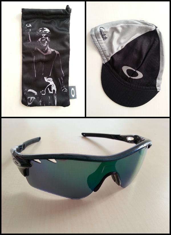 Just in! Limited edition Cavendish Oakley glasses. Full details coming on @bikeradar soon! http://t.co/ZFRIhbNmir