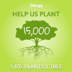RT @Chegg: Help Chegg plant 15,000 trees for Earth Month - retweet to plant trees! http://t.co/RtIAMl5jbC