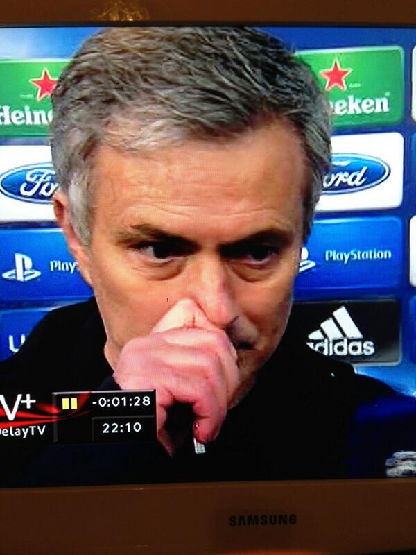 BG9MpNuCEAE7zwu Mourinho claims Ramos and Alonso suspensions are a problem   Body language suggests otherwise