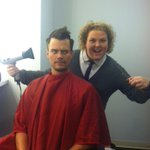 RT @fortunefunny: I've been put in charge of @joshduhamel's hair for tonight's Chelsea Lately!