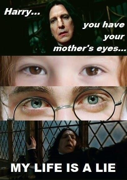 #ANeverEndingArgument Did Harry Potter really have his mother's eyes? http://t.co/oBO5BoxIYc