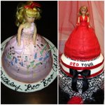 Mothers always watching... RT @Scott_Myrick: Who wore the cake better? @TaylorSwift13 Barbie Or @Scott_Myrick Barbie!