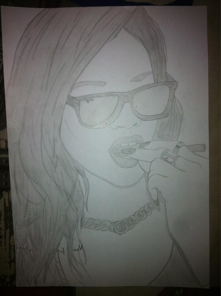 Thug Life Drawing Thug Life my New Drawing of
