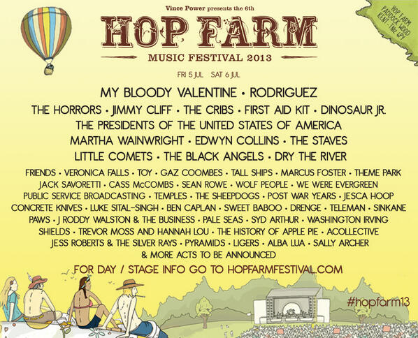 Morning Hop Farmers! Here's the announcement you've been waiting for! #HopFarm13 http://t.co/4akdtq3xHg