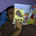 N my doc bro stil reads lotpot!happy bday bhai!kp t child in u alive always!@raahuldutta