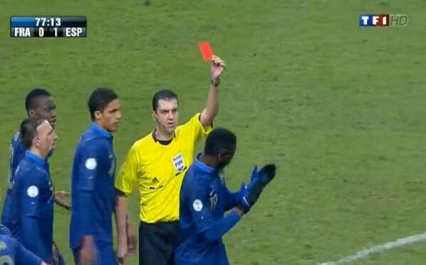 Paul pogba red card for france v spain deserved or harsh football