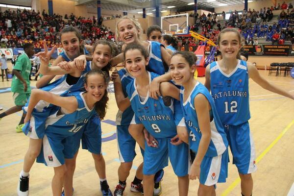 FCBQ (@FCBQ): La selecció Mini Femenina #CatalunyaBQ CAMPIONA d'ESPANYA http://t.co/zKIDKMRuBh