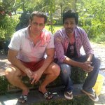 A Rocking Holi yesterday at Salman's Farm House. And No water used :) http://t.co/HsHZzxuDZT