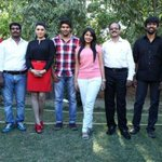 With #Settai team before press meet |