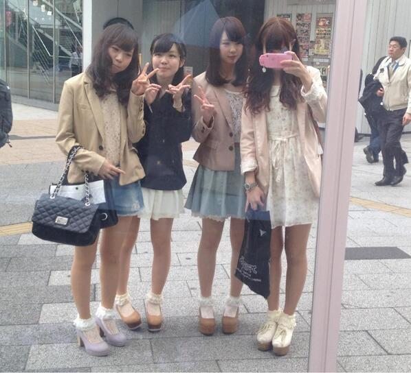 (via:kuru0509) 秋葉原でお買い物してカフェからの、いまから新大久保(*^Д^)ノ。・:コスメメメメメ http://t.co/BkInJWKENV