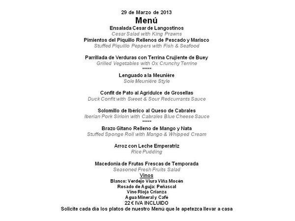 RT @HOTELBAHIASDR: Buenos días, nuestro menú de Viernes Santo!! http://t.co/2ctRIZlDTL