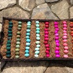 I wonder if the tweet of these eggs got through this m?abetter look at the colors http://t.co/pNs3pYLcnZ