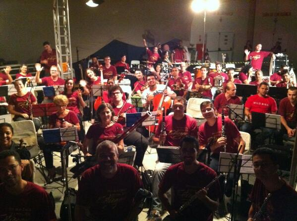 Orquestra PIB em SJC no Auto de Páscoa 2013 com Maestros Marcos Sanches e Fred Tavares! http://t.co/AUz2vgD5d1