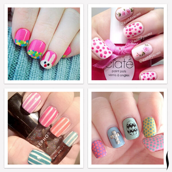 #HappyEaster, beauty bunnies! Your manis gave us spring fever! http://t.co/trTV4qD0BJ