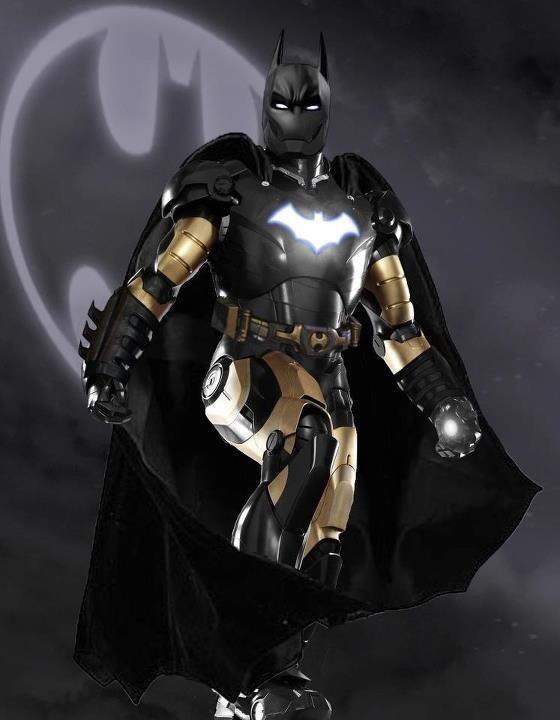 Goblino27 : Nueva armadura #ironman3 Mark 48: Iron Bat ...