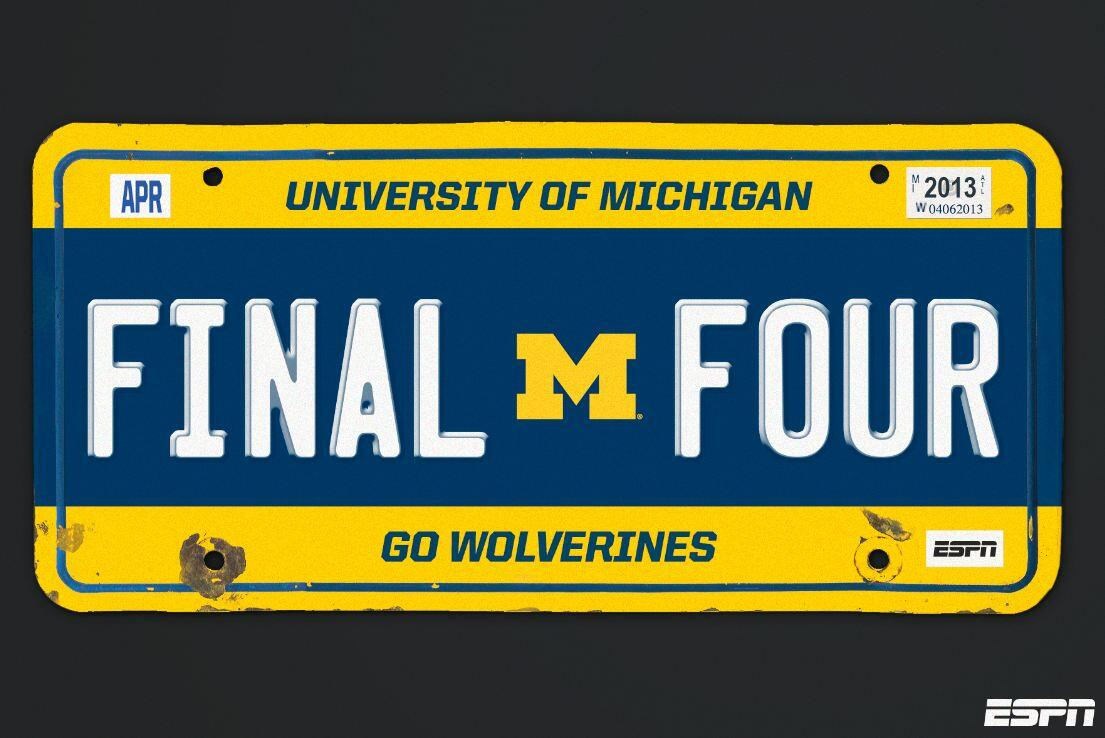 Michigan dominates from start to finish. Next stop for the Wolverines... The Final Four in Atlanta -> http://t.co/GtL3GS27C0