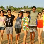 Had a fun weekend in Goa with the wife and some close friends.  Lots of madness when friends are around..