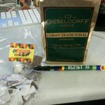 Aw, thank you, @anabarrios for the Guatemalan coffee, sweets & pen. How lovely!