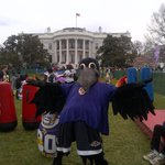 RT @Ravens: Look who's at the White House Easter Egg Roll! @nfl