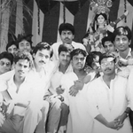 A pic from my engineering college days.  How many of u can identify me?