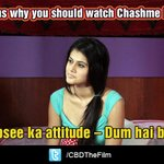 RT @CBDThefilm: Here's reason number 5 to watch #ChashmeBaddoor!