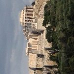 View of the acropolis from where it all began - Pnyx, birthplace of democracy and all that mother jazz 