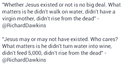 a debate about whether jesus really existed The historical jesus is whether or not a person named jesus christ ever really existed of the debate this controversy has existed from the.