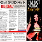 Vanakkam Chennai! @ViyasD: @PriyaWajAnand Your's TOI,Chennai Times Interview - full scan..!
