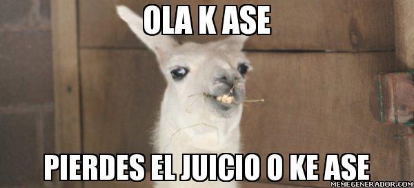 OLA K ASE PROMUSICAE PIERDES EL JUICIO O K ASE :-) http://t.co/VHl22LlW8j