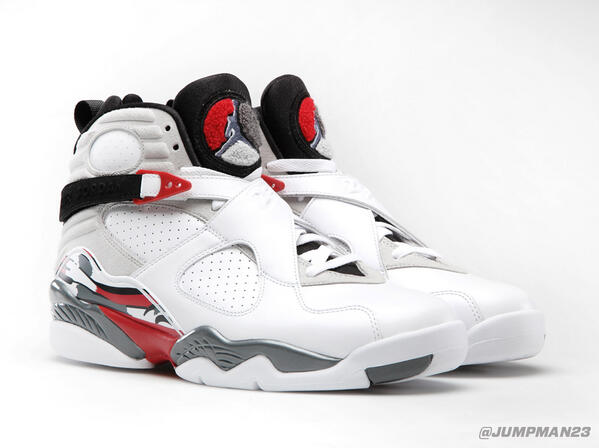 Something to put a bounce in your step today – this classic Air Jordan 8 Retro colorway returns on Saturday. http://t.co/KLe5mNy5lG