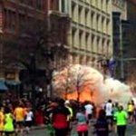 Still from video of blasts near #Boston #Marathon (courtesy AP news agency) Live text page: http://t.co/GDLnJM86sb