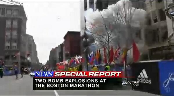 Gio Benitez (@GioBenitez): New video of the #BostonMarathon explosion obtained by @ABC News: http://t.co/6QRT9LHwyh