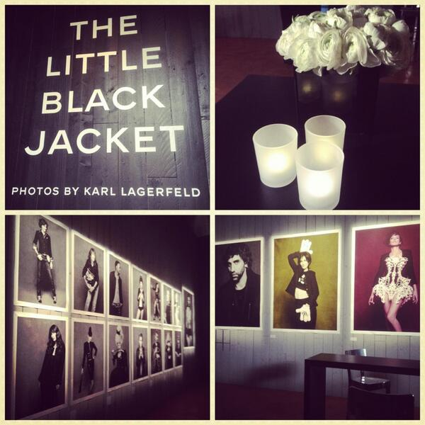 Special interview #thelittleblackjacket #chanel guess who? Soon on Grazia.it! http://t.co/GYYDzOLvWT