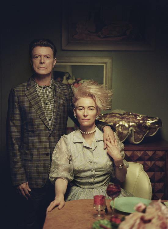Photo of the day: David Bowie and Tilda Swinton http://t.co/INtMHEbDzv