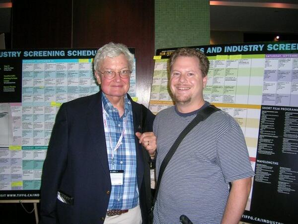 TIFF Remembers Roger Ebert (with images, tweets) · TIFF_NET