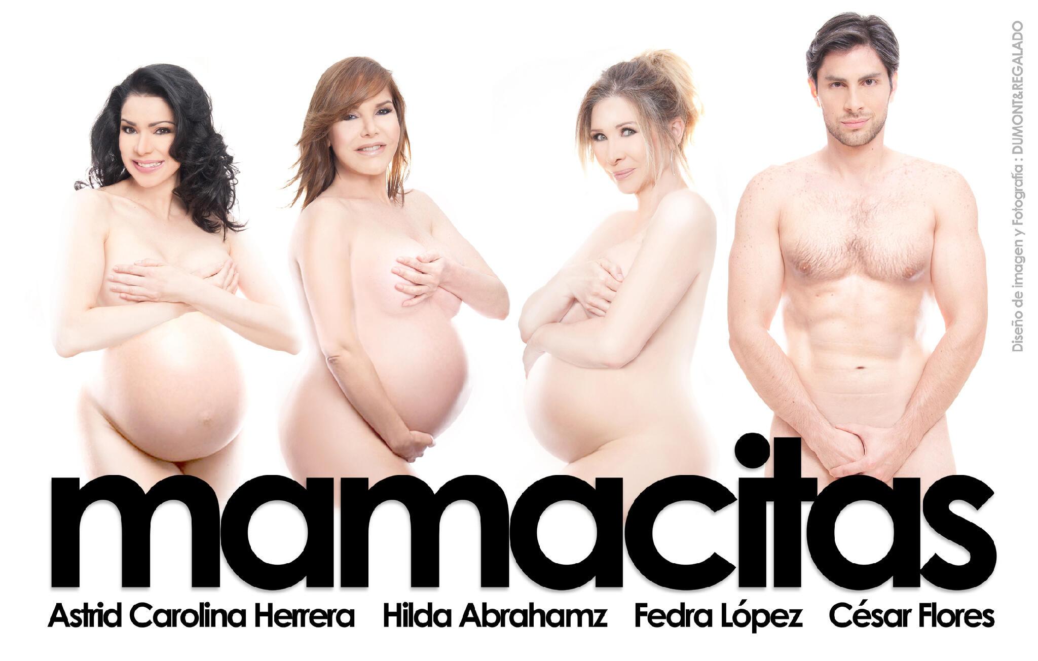 Astrid Carolina Herrera, Hilda Abrahamz, Fedra López EMBARAZADAS! #mamacitas by @DumontRegalado #Teatrex #Pronto http://t.co/6CLKgS5zwx