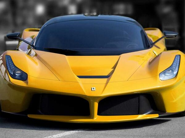 Yesterday we had a test session at Fiorano with #LaFerrari , incredible feelings you have in this car .. http://t.co/qyIYKe1Hwp