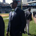 Almost as well as you my friend! RT @Ken_Rosenthal #Tigers broadcaster Rod Allen rockin' the bow tie. http://t.co/qlKqGZp9Ei