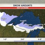 Say it ain't so! MT @DylanDreyerNBC  Snow will accumulate in parts of MN, WI, & MI today!