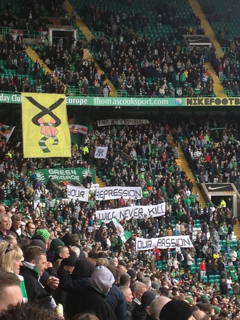 In Pictures: 1000s of Celtic supporters attend Fans Against Criminalisation demo