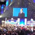 "Great shot! ""@BrockK: Arnold @Schwarzenegger inducting bruno sammartino #wwehof"