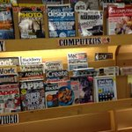 Fry's seems to be getting out of selling magazines. Most recent issues are January.