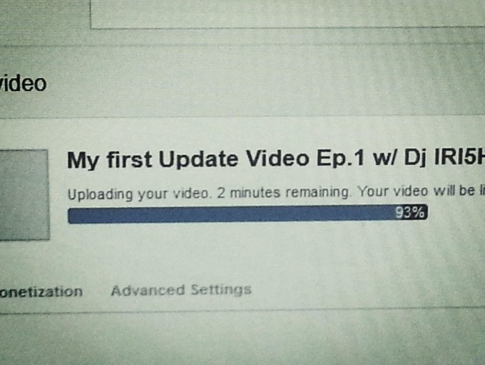"My First Update video is uploading . Check it out on my YouTube Channel : TheIrishGangstaz <a class=""linkify"" href=""http://t.co/JpkET2lO4l"" rel=""nofollow"" target=""_blank"">http://t.co/JpkET2lO4l</a>"