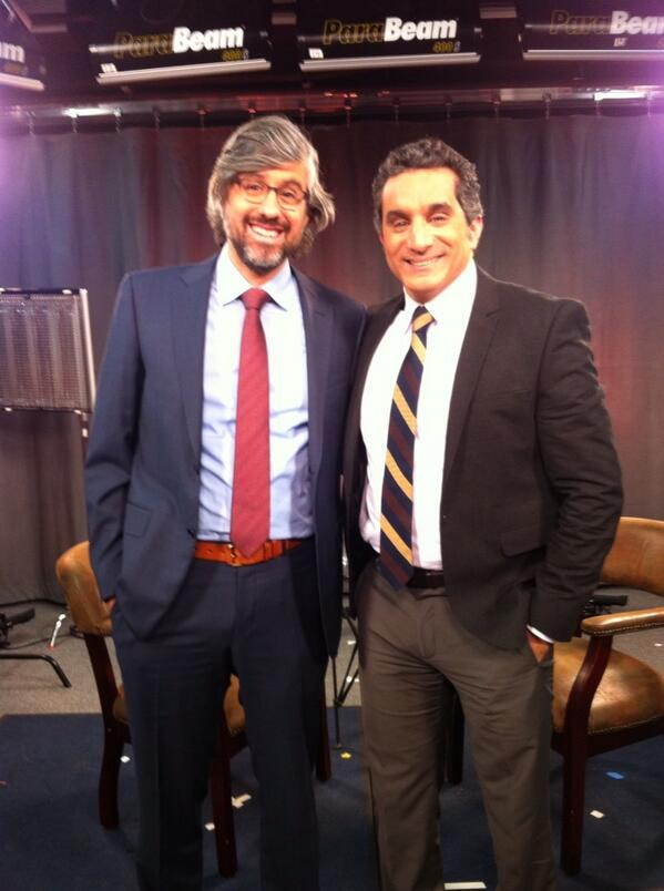 """RT @MoRocca: Tomorrow on @CBSSunday Morning my profile of @DrBassemYoussef, the Egyptian comic arrested for """"insulting"""" Pres Morsi http://t.co/4OPIVssOgq"""