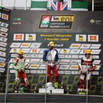 AndreaLocatelli of #MahindraRacing on the podium again today. 3rd in the 2nd race of the Italian championship.