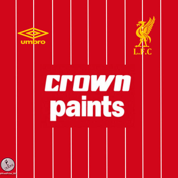 Check out my new Graphic design account @FootPrint_UK and my #LFC Crown Paints 1982/82 Shirt iPad/Tablet background http://t.co/UU62S96rdL
