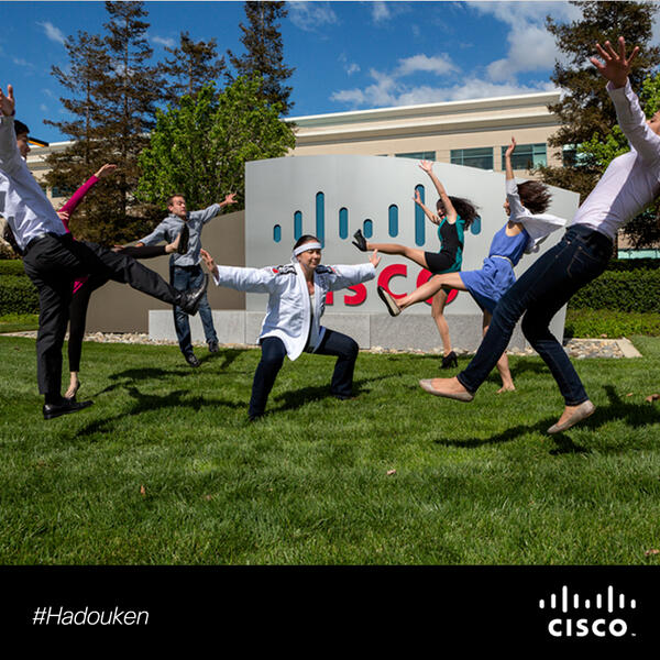 Just another day at the office. #Hadouken http://t.co/1YjG029yWr