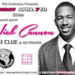 Tonight I'm at Pink Elephant. See y'all there.