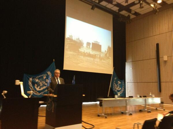 RT @wmuhq: #SHIPREC 2013 in coop with @IMOHQ is underway with opening speakers including Dr Stefan Micallef of IMO. http://t.co/RkdFszzA20