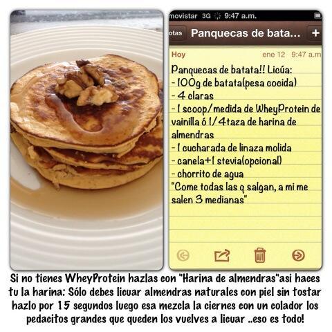 Panquecas de batata #DesayunoSascha http://t.co/EQBWKbWdBa
